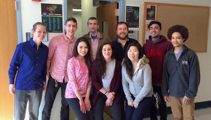 Maresca Lab Group Photo Spring 2015